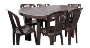 بورس میز صندلی پلاستیکی