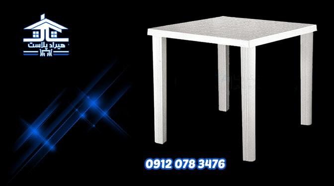 میز پلاستیکی استخر