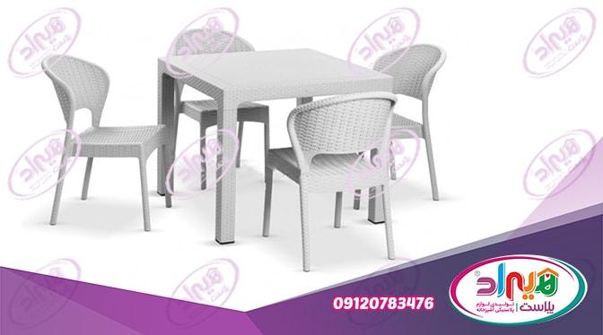 میز پلاستیکی رستوران